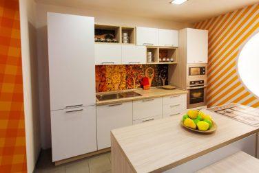 Современная кухня модерн Фарфалле