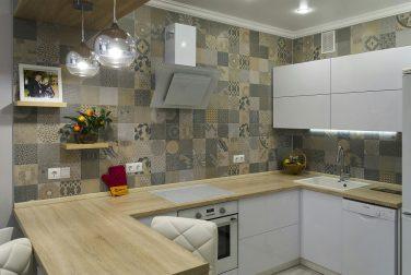 Современная кухня модерн Корфу