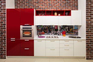 Современная кухня модерн Нью Йорк