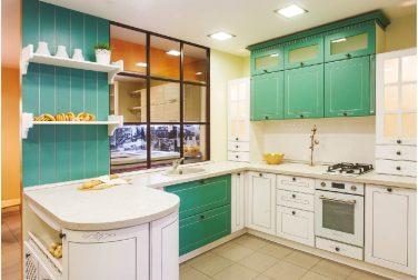 П-образная кухня Адель