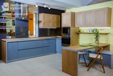 Современная кухня модерн Квадрика