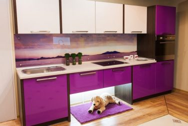 Прямая кухня Виола