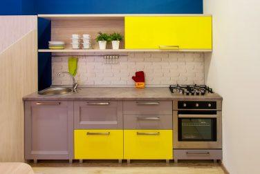 Современная кухня модерн Грэй