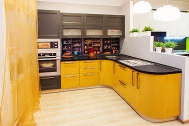 Угловая кухня Вольфрам
