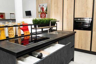 Современная кухня модерн Хайклер