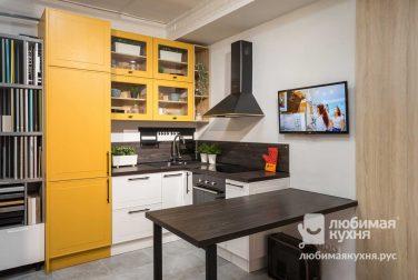 Современная кухня модерн Лаксе